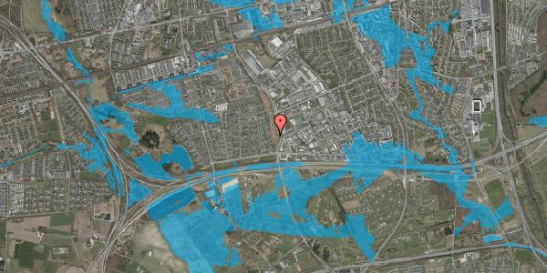Oversvømmelsesrisiko fra vandløb på Nordmarksvænge 73, 2625 Vallensbæk
