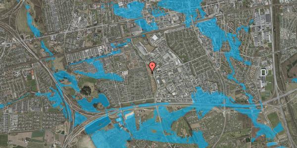 Oversvømmelsesrisiko fra vandløb på Nordmarksvænge 80, 2625 Vallensbæk