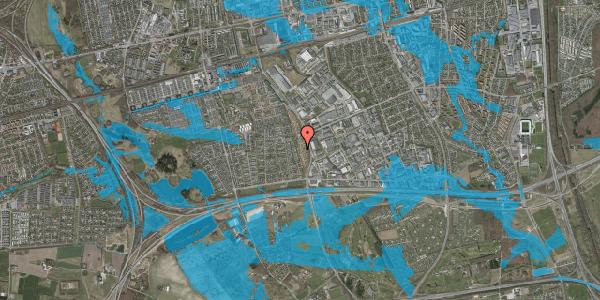 Oversvømmelsesrisiko fra vandløb på Nordmarksvænge 89, 2625 Vallensbæk