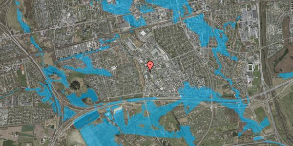 Oversvømmelsesrisiko fra vandløb på Park Alle 381, 2625 Vallensbæk