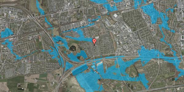 Oversvømmelsesrisiko fra vandløb på Pilehavevænge 2, 2625 Vallensbæk
