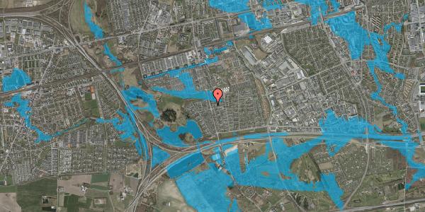 Oversvømmelsesrisiko fra vandløb på Pilehavevænge 3, 2625 Vallensbæk