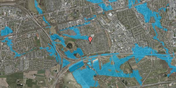 Oversvømmelsesrisiko fra vandløb på Pilehavevænge 4, 2625 Vallensbæk