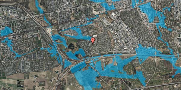 Oversvømmelsesrisiko fra vandløb på Pilehavevænge 6, 2625 Vallensbæk
