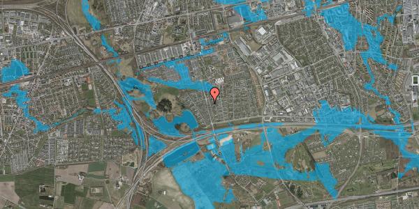 Oversvømmelsesrisiko fra vandløb på Pilehavevænge 10, 2625 Vallensbæk