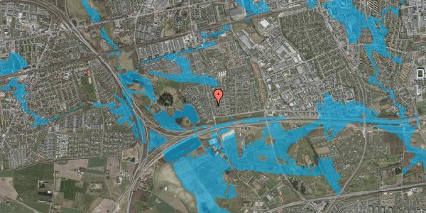 Oversvømmelsesrisiko fra vandløb på Pilehavevænge 26, 2625 Vallensbæk