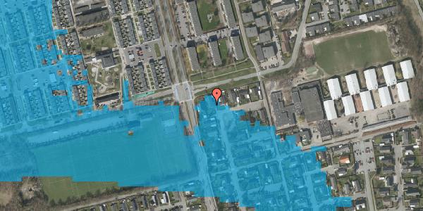 Oversvømmelsesrisiko fra vandløb på Pilehavevænge 31, 2625 Vallensbæk