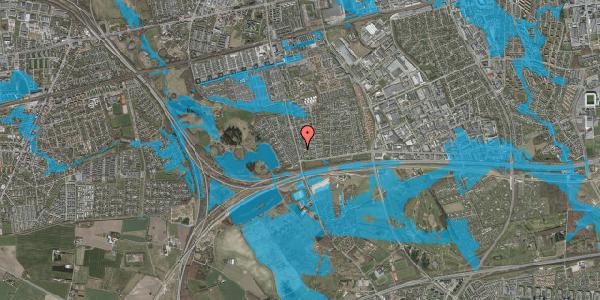 Oversvømmelsesrisiko fra vandløb på Pilehavevænge 32, 2625 Vallensbæk