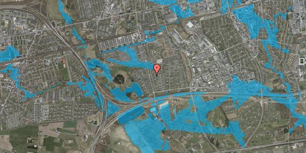 Oversvømmelsesrisiko fra vandløb på Pilehavevænge 112, 2625 Vallensbæk