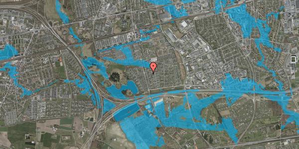 Oversvømmelsesrisiko fra vandløb på Pilehavevænge 116, 2625 Vallensbæk