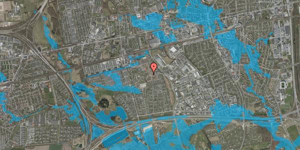 Oversvømmelsesrisiko fra vandløb på Rosenlunden 4, 2625 Vallensbæk