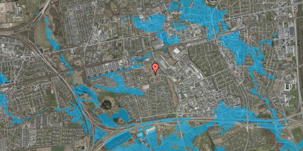 Oversvømmelsesrisiko fra vandløb på Rosenlunden 15, 2625 Vallensbæk