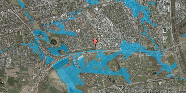 Oversvømmelsesrisiko fra vandløb på Syvhøjvænge 6, 2625 Vallensbæk