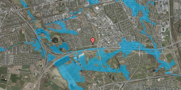 Oversvømmelsesrisiko fra vandløb på Syvhøjvænge 7, 2625 Vallensbæk
