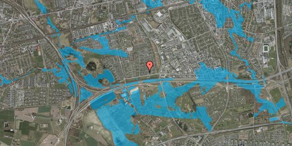 Oversvømmelsesrisiko fra vandløb på Syvhøjvænge 15, 2625 Vallensbæk