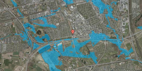 Oversvømmelsesrisiko fra vandløb på Syvhøjvænge 22, 2625 Vallensbæk