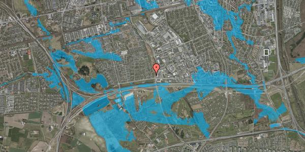 Oversvømmelsesrisiko fra vandløb på Syvhøjvænge 24, 2625 Vallensbæk