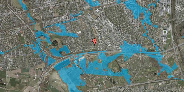 Oversvømmelsesrisiko fra vandløb på Syvhøjvænge 29, 2625 Vallensbæk