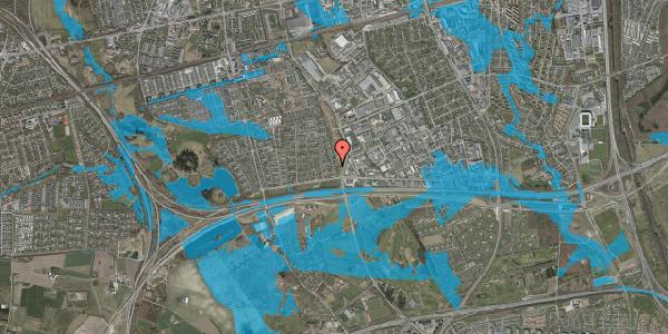 Oversvømmelsesrisiko fra vandløb på Syvhøjvænge 30, 2625 Vallensbæk