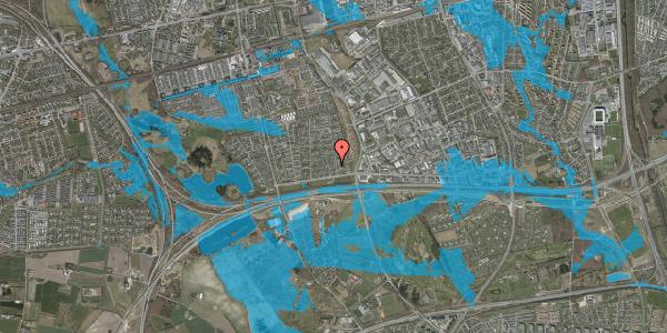 Oversvømmelsesrisiko fra vandløb på Syvhøjvænge 31, 2625 Vallensbæk