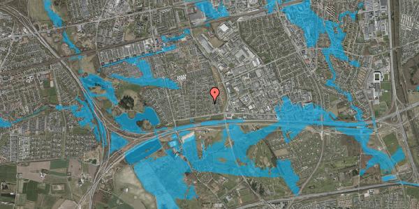 Oversvømmelsesrisiko fra vandløb på Syvhøjvænge 59, 2625 Vallensbæk
