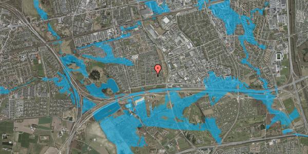 Oversvømmelsesrisiko fra vandløb på Syvhøjvænge 63, 2625 Vallensbæk