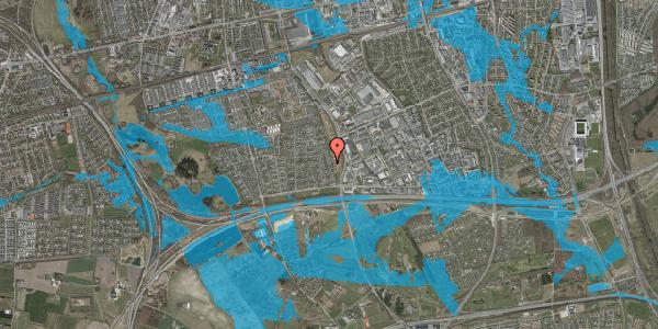 Oversvømmelsesrisiko fra vandløb på Syvhøjvænge 106, 2625 Vallensbæk