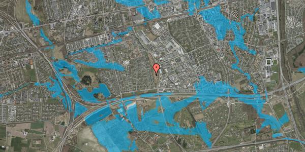 Oversvømmelsesrisiko fra vandløb på Syvhøjvænge 116, 2625 Vallensbæk