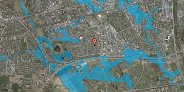 Oversvømmelsesrisiko fra vandløb på Syvhøjvænge 117, 2625 Vallensbæk