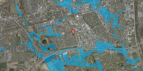 Oversvømmelsesrisiko fra vandløb på Syvhøjvænge 169, 2625 Vallensbæk
