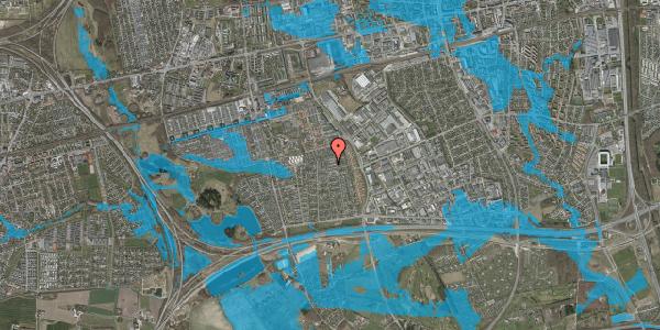 Oversvømmelsesrisiko fra vandløb på Syvhøjvænge 209, 2625 Vallensbæk