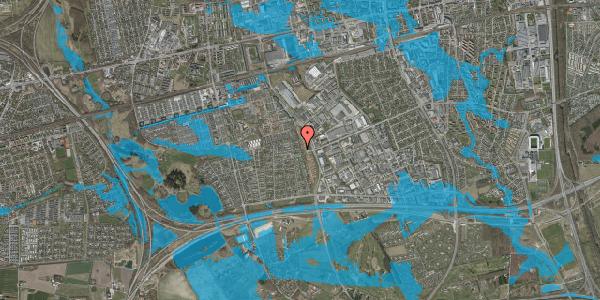 Oversvømmelsesrisiko fra vandløb på Syvhøjvænge 234, 2625 Vallensbæk