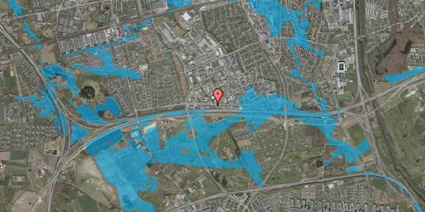 Oversvømmelsesrisiko fra vandløb på Vallensbækvej 61, kl. , 2625 Vallensbæk