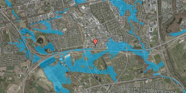 Oversvømmelsesrisiko fra vandløb på Vallensbækvej 63, 1. , 2625 Vallensbæk