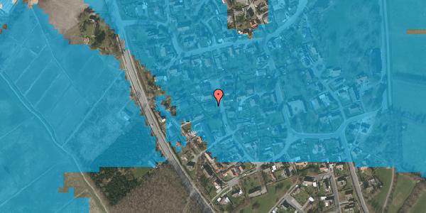 Oversvømmelsesrisiko fra vandløb på Ved Bækken 3, 2625 Vallensbæk