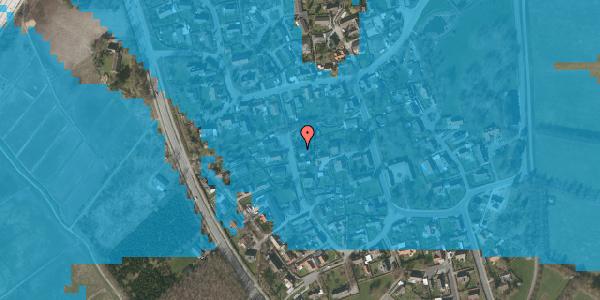 Oversvømmelsesrisiko fra vandløb på Ved Bækken 4, 2625 Vallensbæk