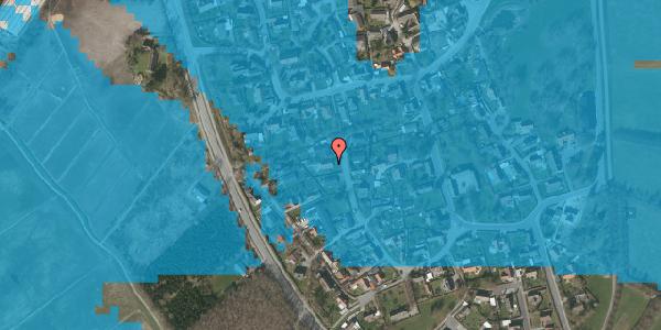 Oversvømmelsesrisiko fra vandløb på Ved Bækken 5, 2625 Vallensbæk