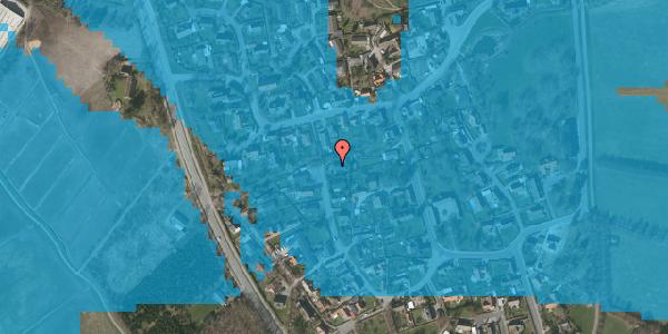 Oversvømmelsesrisiko fra vandløb på Ved Bækken 6, 2625 Vallensbæk