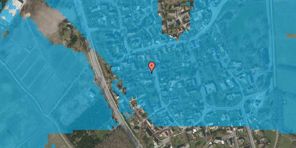Oversvømmelsesrisiko fra vandløb på Ved Bækken 7, 2625 Vallensbæk