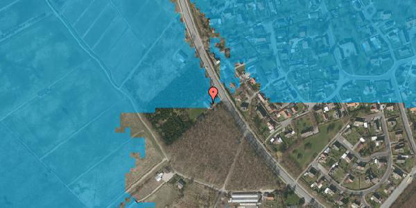 Oversvømmelsesrisiko fra vandløb på Vejlegårdsvej 111, 2625 Vallensbæk