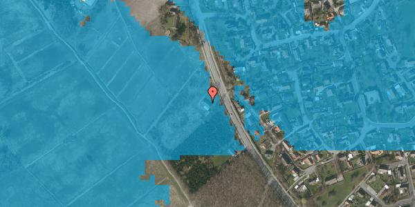 Oversvømmelsesrisiko fra vandløb på Vejlegårdsvej 113, 2625 Vallensbæk