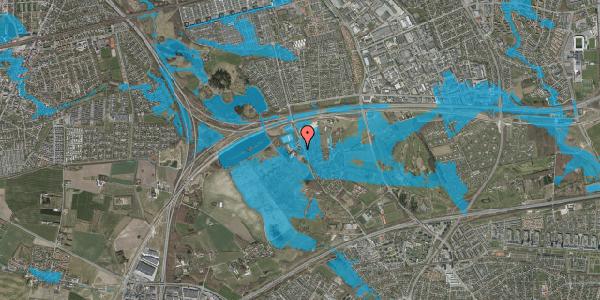 Oversvømmelsesrisiko fra vandløb på Vejlegårdsvej 121, kl. , 2625 Vallensbæk