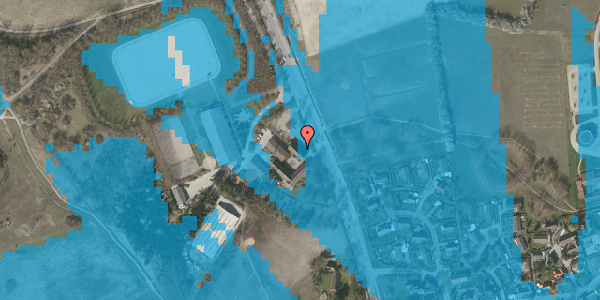 Oversvømmelsesrisiko fra vandløb på Vejlegårdsvej 123, st. tv, 2625 Vallensbæk