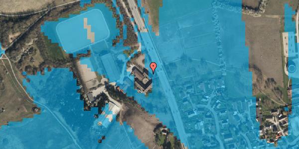 Oversvømmelsesrisiko fra vandløb på Vejlegårdsvej 123, 1. th, 2625 Vallensbæk