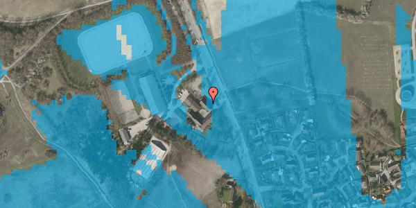 Oversvømmelsesrisiko fra vandløb på Vejlegårdsvej 123, 1. tv, 2625 Vallensbæk