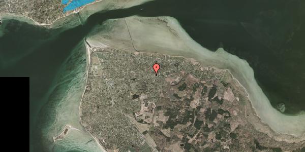 Oversvømmelsesrisiko fra vandløb på Barakvejen 80, 3630 Jægerspris