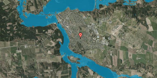Oversvømmelsesrisiko fra vandløb på Bakkelyparken 57, 8680 Ry