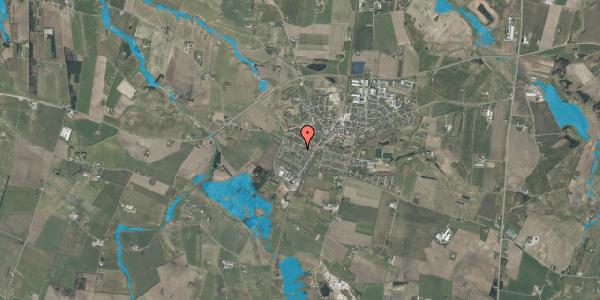 Oversvømmelsesrisiko fra vandløb på Blichersvej 6, 9760 Vrå
