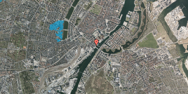 Oversvømmelsesrisiko fra vandløb på Puggaardsgade 23, 17. , 1573 København V