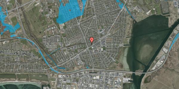 Oversvømmelsesrisiko fra vandløb på Ajax Alle 45B, 2650 Hvidovre